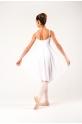 MDA white girl dress leotard
