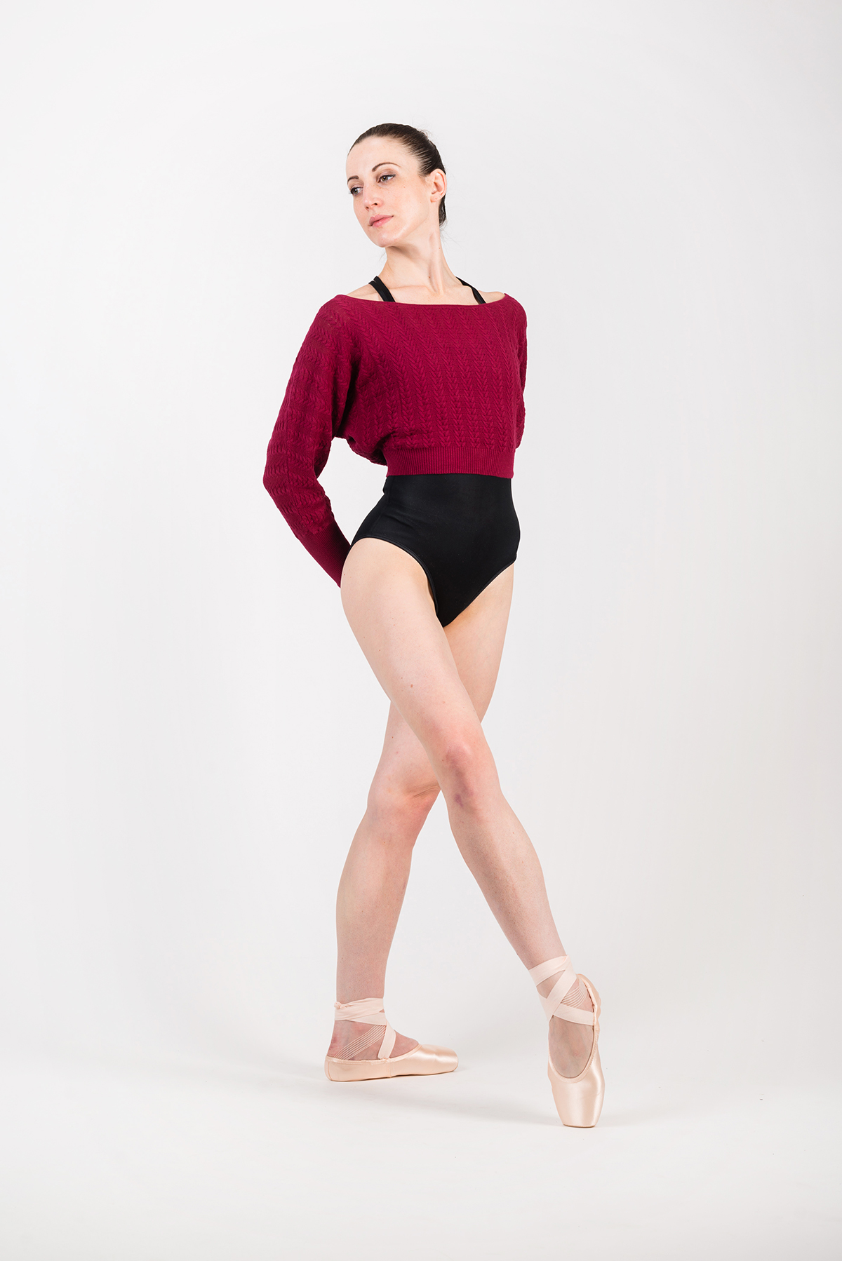 Bloch Tabor Z6999 Burgundy limited edition pullover