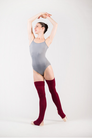 Bloch Cade W6950 Burgundy limited edition legwarmer
