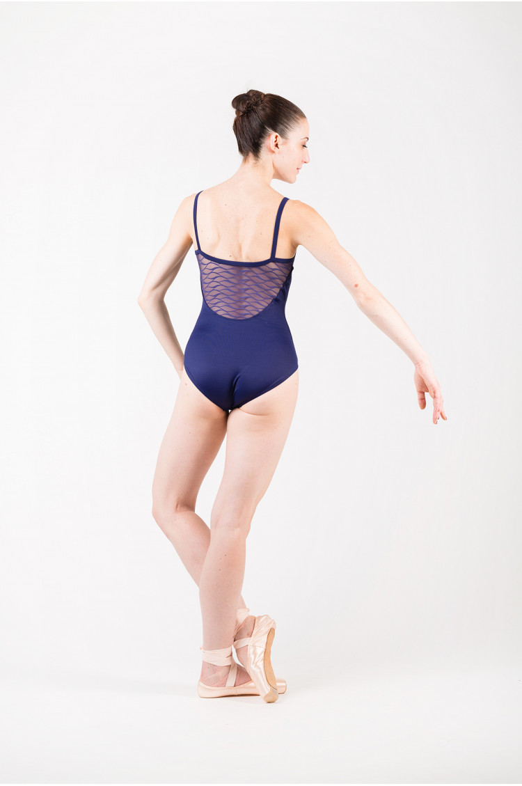 Mirella M2145 navy dance leotard