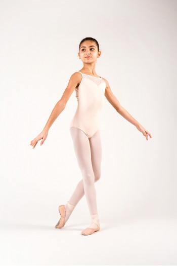 Justaucorps Ballet Rosa Aura Rose poudré enfant