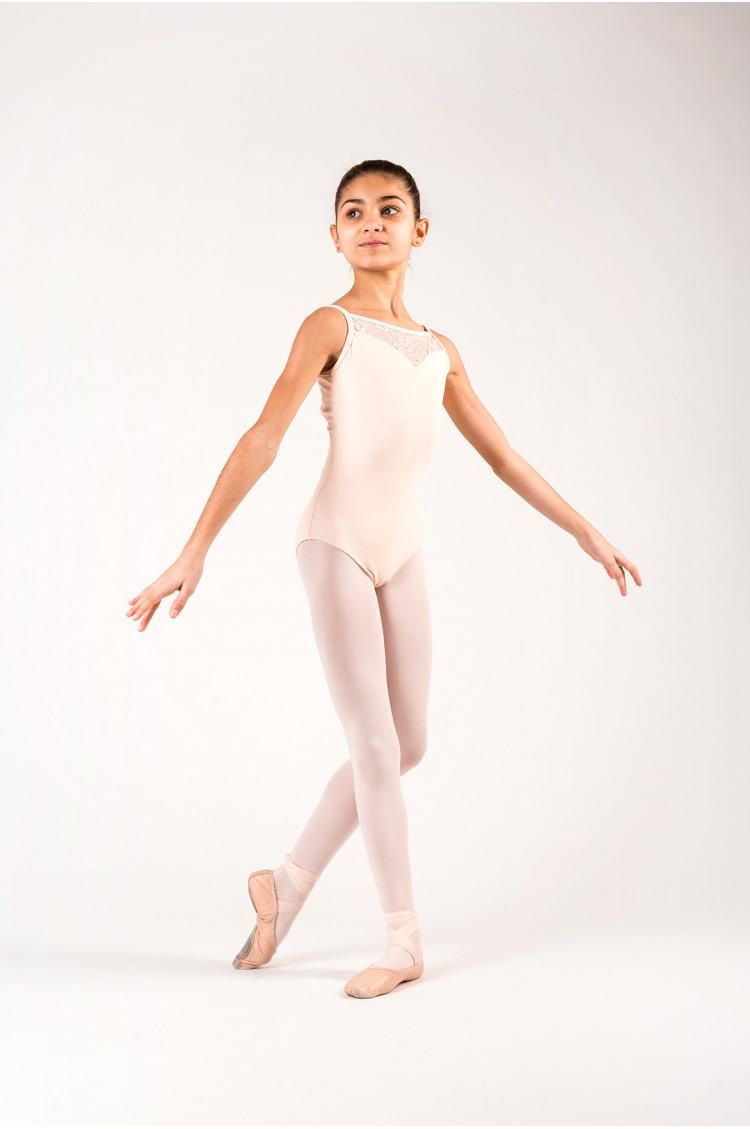 Justaucorps Ballet Rosa Aura Rose poudré
