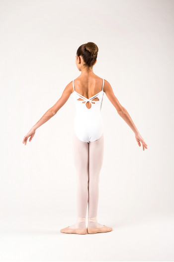 Ballet Rosa Aura white child leotard