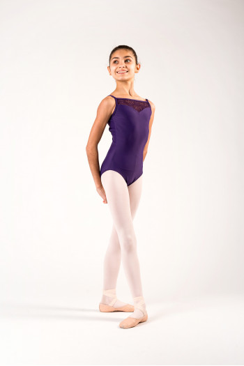 Ballet Rosa Aura Prunus child leotard