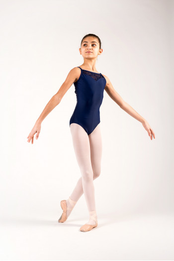 Justaucorps Ballet Rosa Aura marine enfant