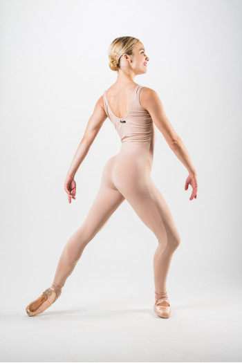 Temps Danse Vellum tan unitard