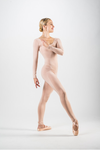 Temps Danse light tan unitard