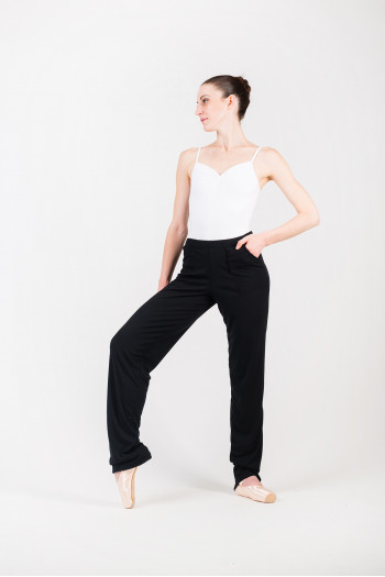 Pantalon échauffement Ballet Rosa Penina noir