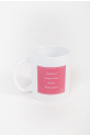 Mug Mademoiselle Danse citation