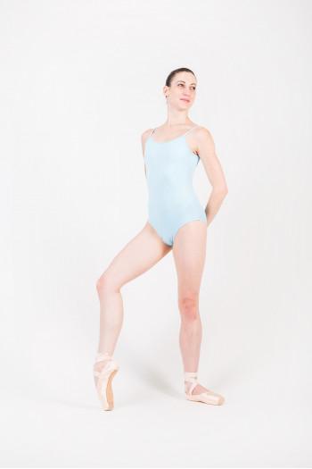 Justaucorps Bloch Femme L5607 pastel blue