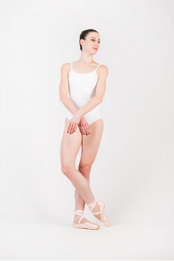 Justaucorps Bloch Femme L5607 white