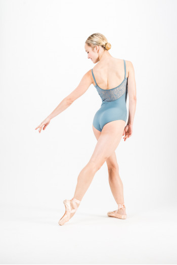Mirella M2154 grey leotard - Limited edition
