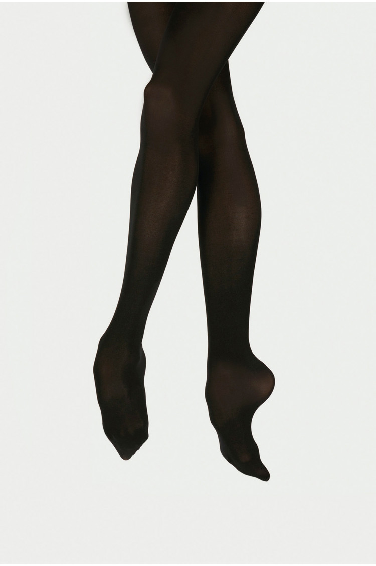 Wear Moi DIV01 black footed tights