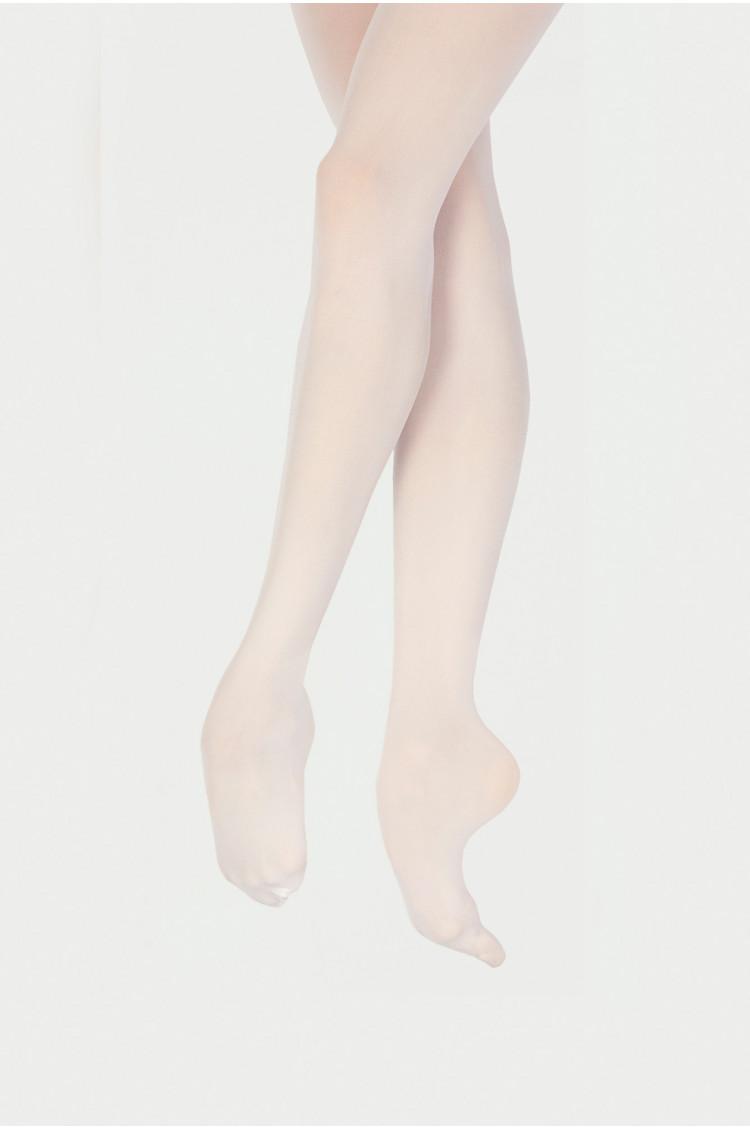 Collants Wear Moi Avec pieds DIV01 Blanc enfants