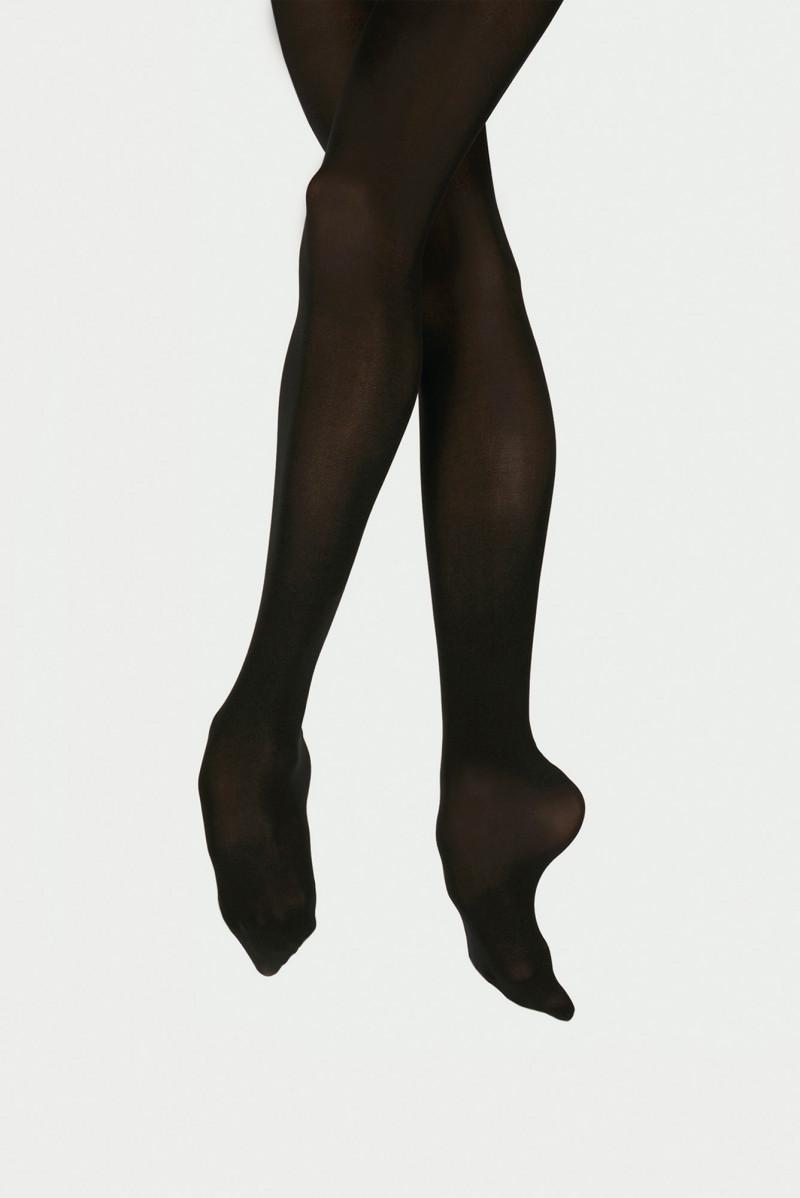 Collants avec pieds Wear Moi DIV01 enfants noir