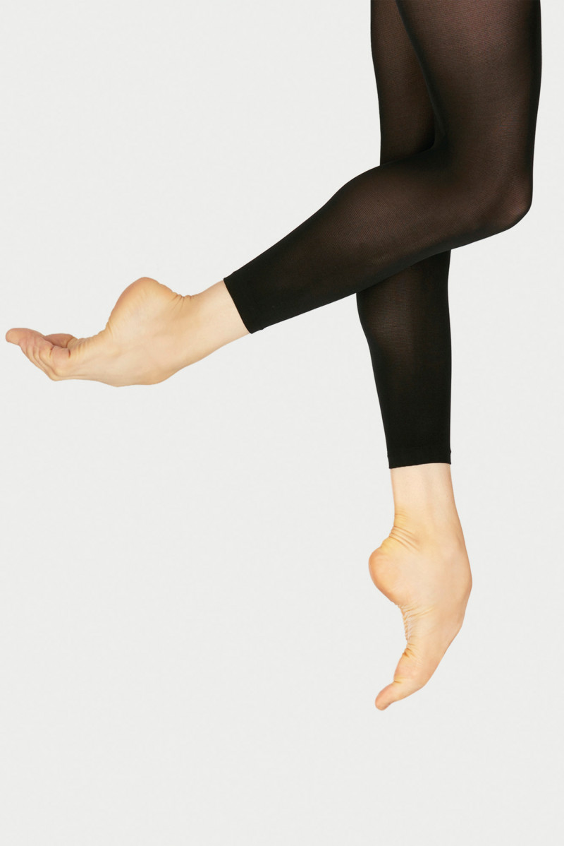 Wear Moi black footless tights DIV60