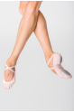 Wear Moi split-sole stretch canvas slippers Vesta light pink