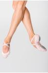 Demi-pointes Wear Moi bi-semelles strech Vesta light pink