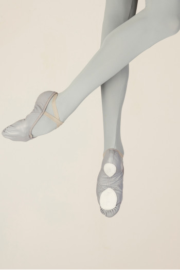 Wear Moi WM406 grey leather soft shoes