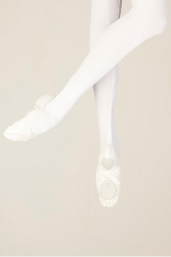 Demi-pointes Wear Moi MW406 cuir white