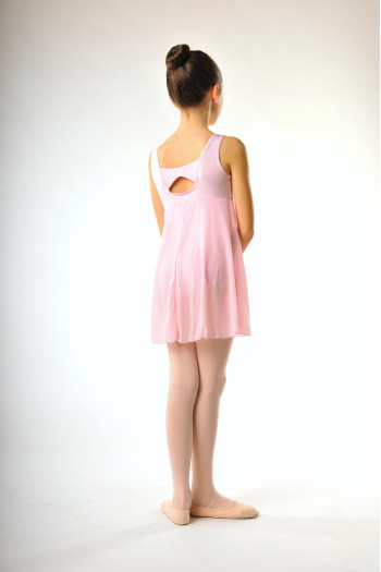 Capezio 3968C pink empire dress