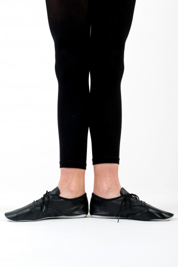 Merlet leather lace-up jazz shoes