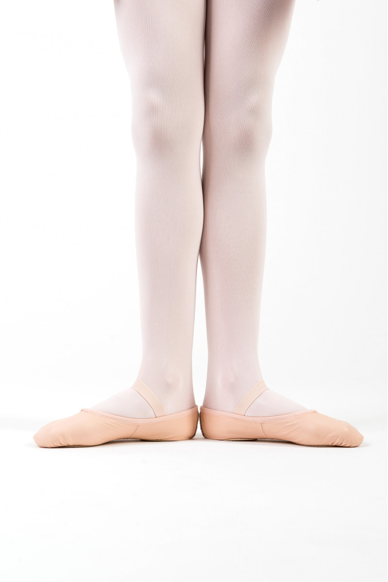 Bloch leather split sole soft ballet shoes