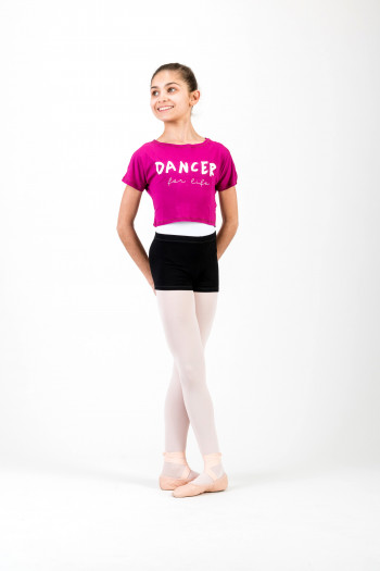 Crop Top Temps Danse Agile For life Jr magenta