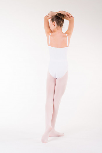 Capezio essential white footed tights for children