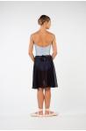 MDA long black skirt