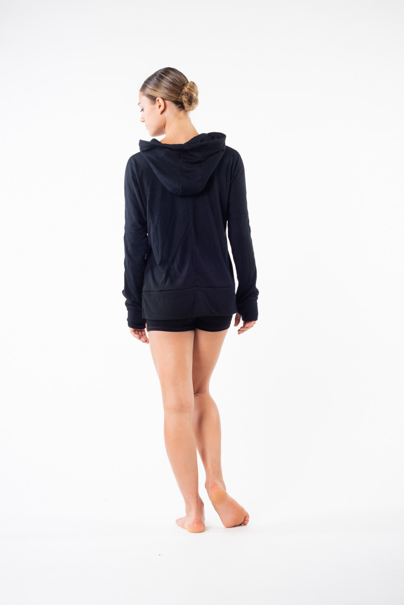 Sweat Ballet Rosa Olivine noir