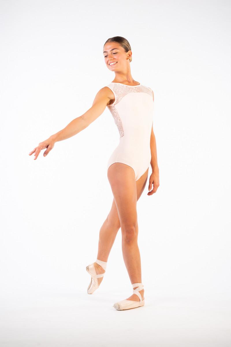 Justaucorps dentelle Ballet Rosa Rita poudré