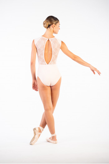 Ballet Rosa pink lace women leotard
