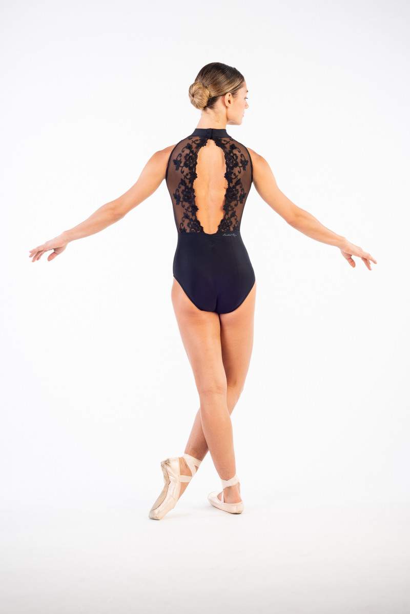 Justaucorps Ballet Rosa Amélie noir