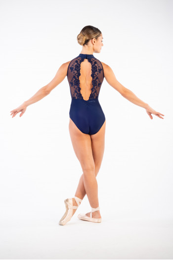 Ballet Rosa navy Amélie Leotard Women