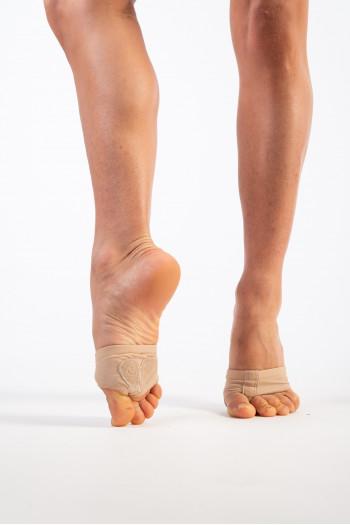 Foot glove Danser-vous flesh lycra