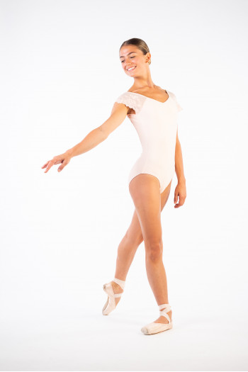 Ballet Rosa leotard for women Josephine pale pink