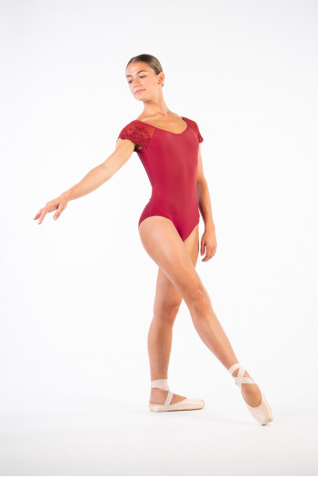 Ballet Rosa leotard for women Josephine burgundy