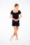 Combinaison Short Ballet Rosa Anice noir