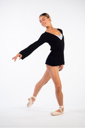 Cache-coeur Ballet Rosa Sayaka noir