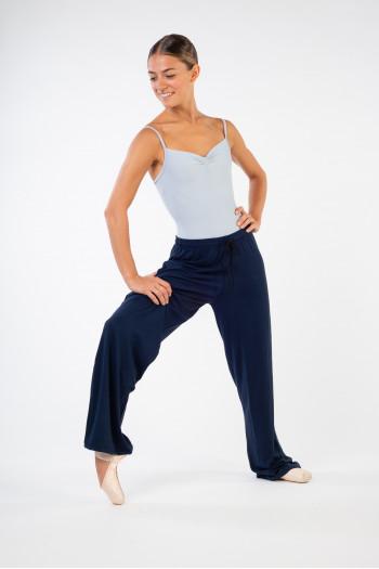 Pantalon droit Temps Danse ceinture boxer