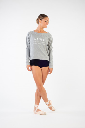 Sweat molleton Temps Danse Tanagra