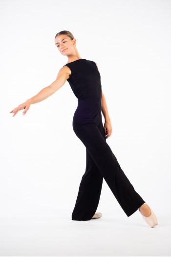 Ballet Rosa Yume full black unitard