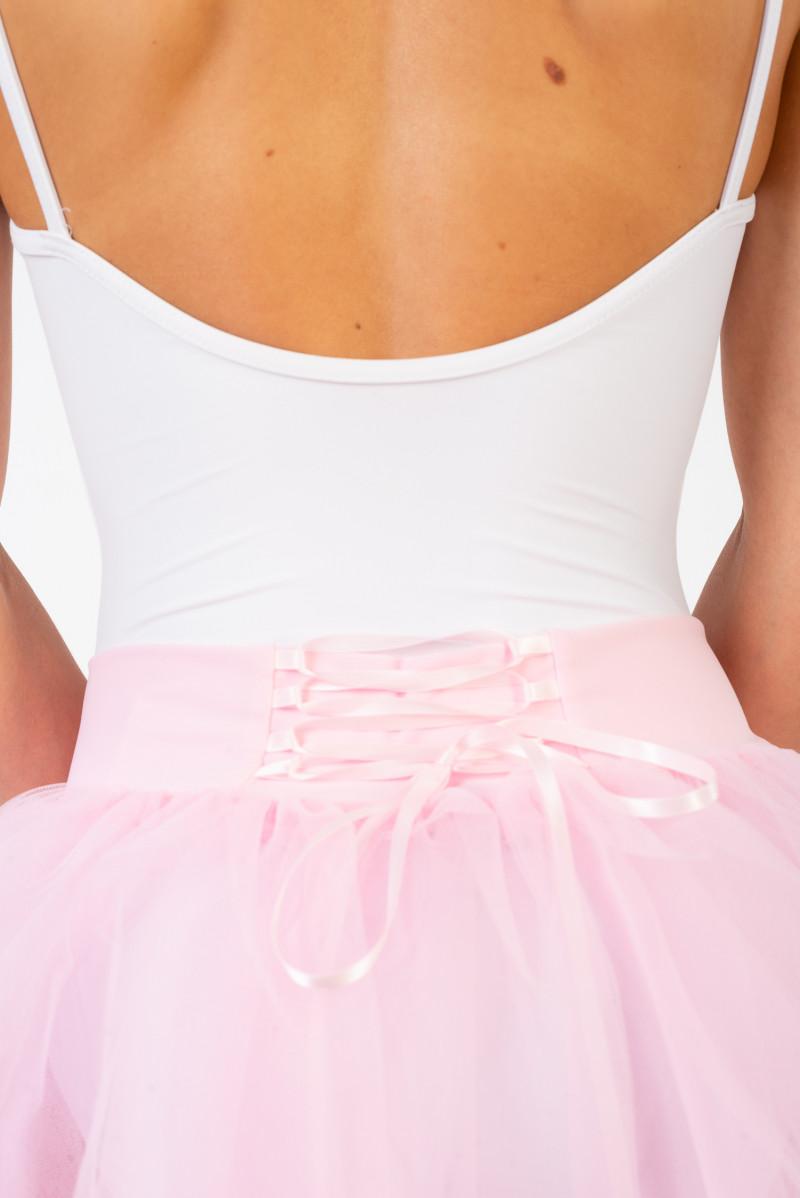 Bas de tutu lacet dans le dos pink