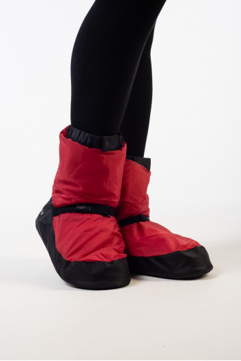 Red Bloch Warm up bootie Bloch IM009