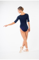 Temps Danse ruby Maddy half sleeves leotard