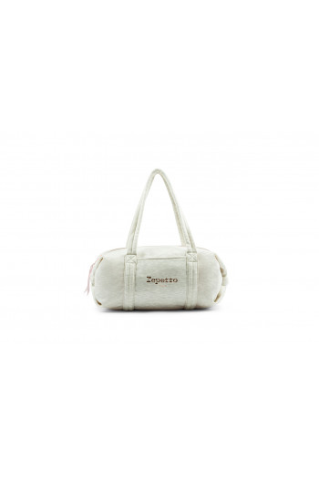 Sac Repetto polochon velour craie B0232JV