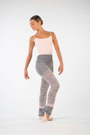 Collants d'échauffement Intermezzo 5232 gris