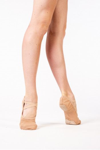 Bloch Performa sand stretch split sole canvas ballet shoes