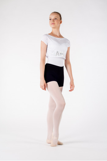 Crop top Bloch Romy FT5034C blanc Edition limitée
